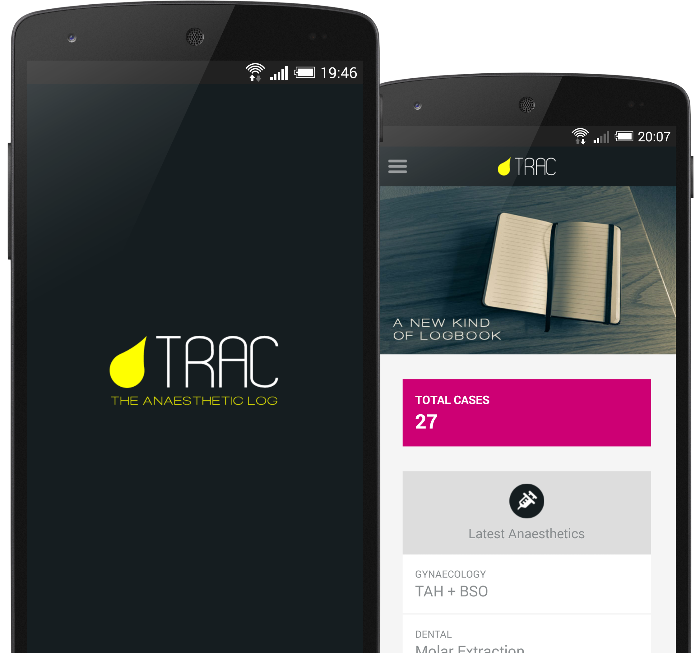 Trac Screenshots on Nexus 5